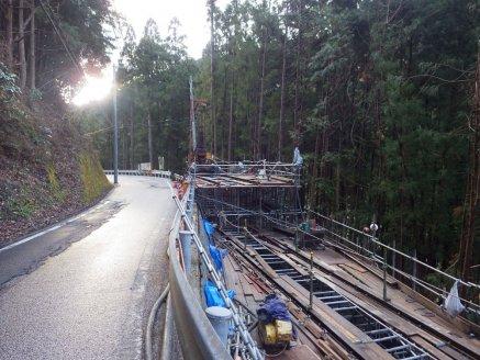 工事の施工現場